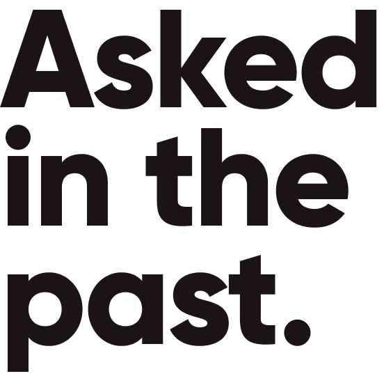 asked-past